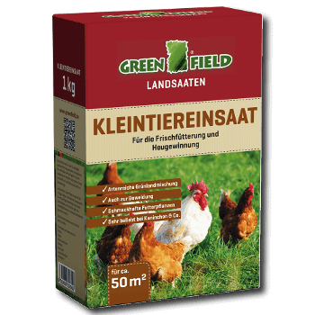 Greenfield Kleintiereinsaat