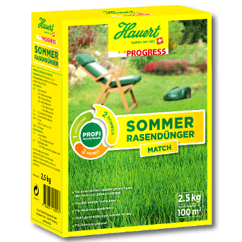 Hauert Sommer Rasendünger Progress Match